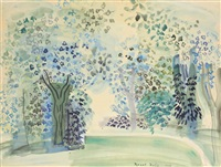 bouquet d'arbres by raoul dufy