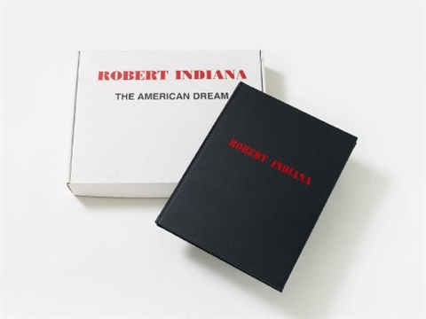 the american dream (bk w/6 works) by robert indiana