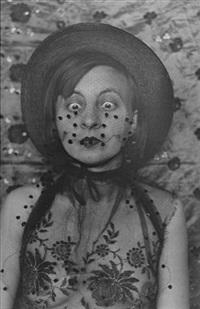 maskenselbstportrait, dessau by gertrud arndt
