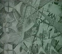 phantasielandschaft mit papierdrachen by claude sandoz