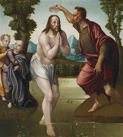 baptism of christ by pablo de aregio
