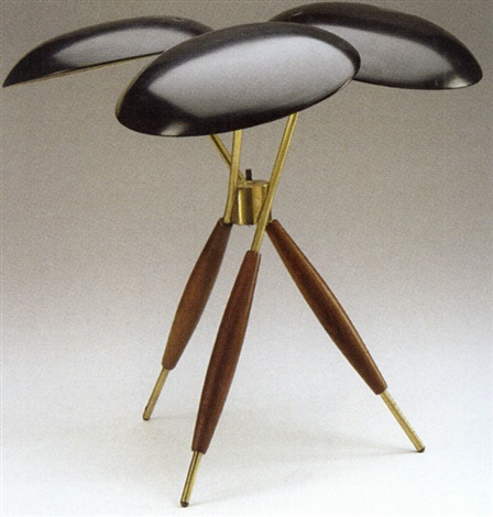 tripod table lamp by gerald thurston - Tripod Table Lamp