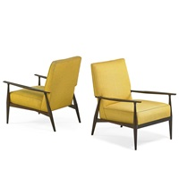lounge chairs (pair) by paul mccobb