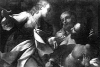 der engel erscheint dem apostel petrus im kerker by lionello spada