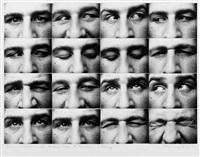 augen (portrait kurt schmidt) 1. fassung (16 works) by kurt kranz
