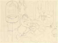 femme assise dans un intérieur by henri matisse
