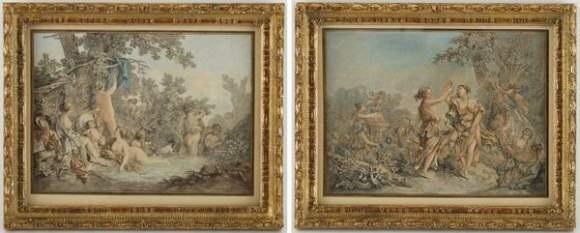 les quatres saisons set of 4 by louis marin bonnet