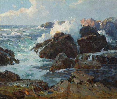 sunlit shores by jack wilkinson smith