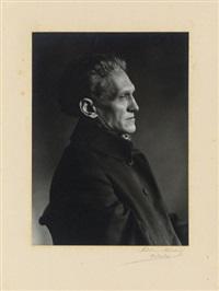 stefan george (9 works) by theodor hilsdorf