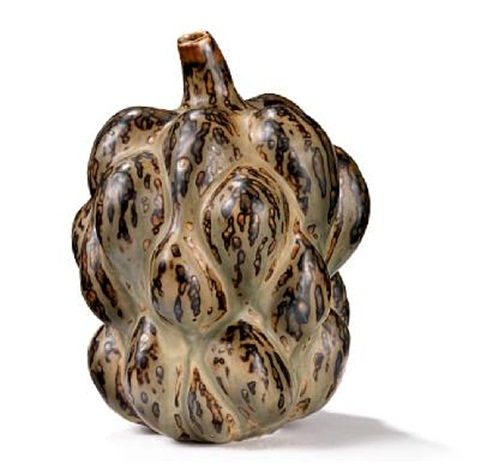 fruit shaped vase by axel johann salto