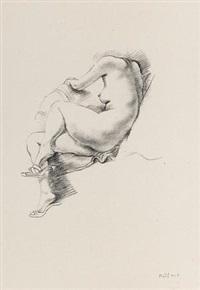 人体素描-2 by chen danqing