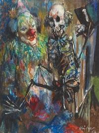 ohne titel (tod und clown) by thomas häfner