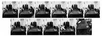 allein sein ist eine erfahrung von immer weniger (portfolio of 11) by jürgen klauke