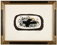 l'oiseau d'octobre (the bird of october) by georges braque