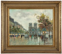 paris - apres la pluie by antoine blanchard