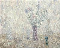 still life with crystal by anna birschtein