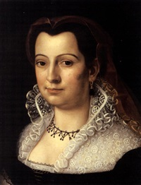 portrait of a woman (+ another; 2 works) by scipione pulzone