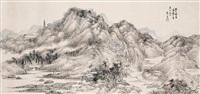 富春图一角 (landscape) by jiang xizeng