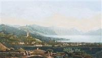 vevey et le fond du lac by j. dubois