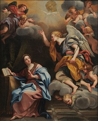 the annunciation by jacob oost the elder
