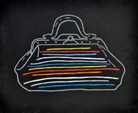 rainbow bag by fabio de poli