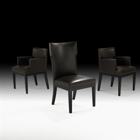 armchairs and side chair 3 works by christian liaigre
