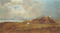 highland croft by hubert herbert coutts