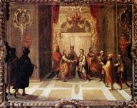 marriage of the virgin by lucas de valdes