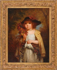 autumn leaves by george cochran lambdin