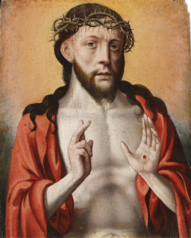 man of sorrows by flemish school 16