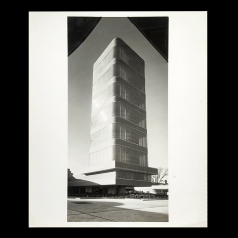 sc johnson research tower by ezra stoller