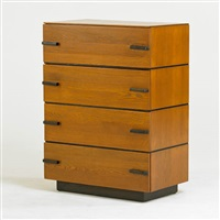 four drawer chest by gilbert rohde