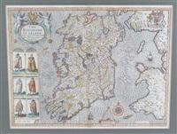 John Speed Map Of Ireland.John Speed Artnet