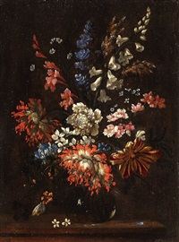 a floral still life by pieter casteels iii