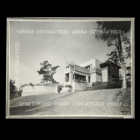 hollyhock house by ezra stoller