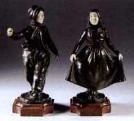 two dutch figures by paul d' aire