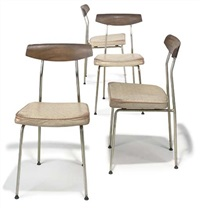dining chairs (4 works) by john & sylvia reid