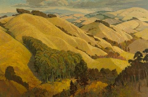 sonoma hills by louis macouillard