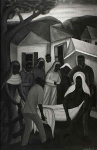 the stations of the cross by castera bazile