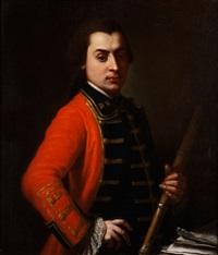 portrait eines flötenspielers by gaspare traversi