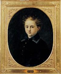 ritratto di juan falcò trivulzio pio di savoia castel-rodrigo all'età ai quattro anni by napoleone mellini