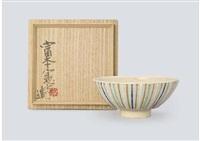 tea bowl by kenkichi tomimoto