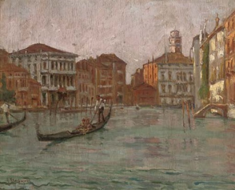 a romantic evening punt on the grand canal venice by alfredo campajola