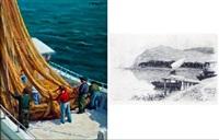 pescadores by alfredo enguix
