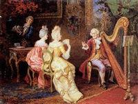 the concert by umberto cacciarelli