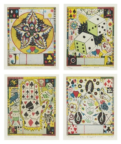 infinite wagner set of ten by tony fitzpatrick