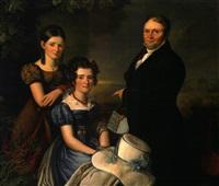 portrait de aachener familie vonderbank by carl adolf mende