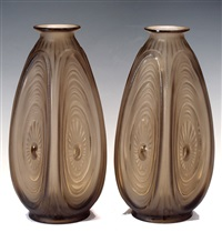 vases (pair) by sabino