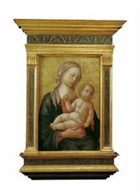 madonna mit kind by (francesco di stefano) pesellino