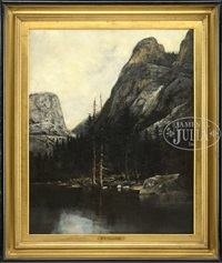 fraconia notch, new hampshire by william henry hilliard